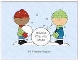 Snowman Glyph for Winter Fun