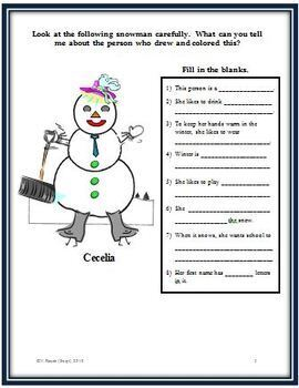 Snowman Glyph - Gathering Data and Answering Questions