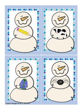 Snowman Go-Togethers