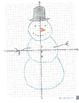 Snowman Graph on the Coordinate Plane