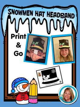 Snowman Hat Headband