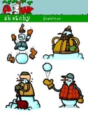Snowman Holiday / Christmas / Winter Clip art