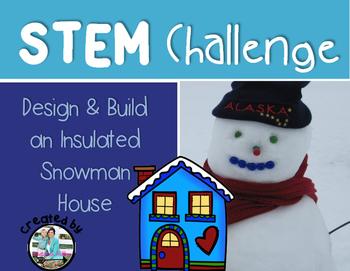 Snowman House Insulation STEM Engineering Challenge