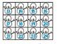 Snowman Hundreds Chart Number Cards