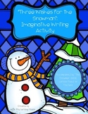 Snowman Imaginative Writing Prompt
