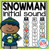 Snowman Initial Sound Match-Up
