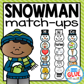 Snowman Match-Ups {Growing} Bundle