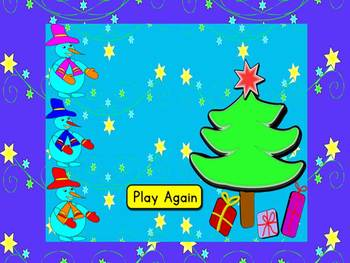 Winter Activities - Winter - Winter Game - Snowman - Interactive PowerPoint Game