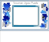 Snowman Jigsaw Puzzle for Smart Board