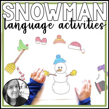 Snowman Language Activities