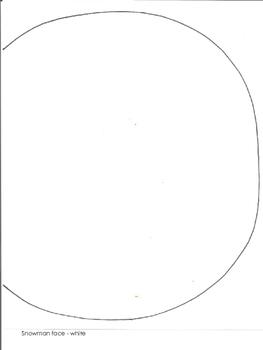 Snowman/Leprechaun Art Pattern