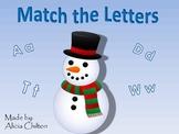 Snowman Letter Match-Up