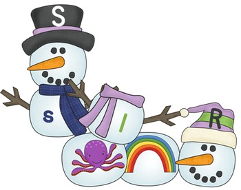 Snowman Letter, Sound, Picture Match