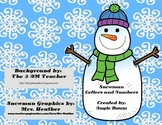 Snowman Letter and Number Cards