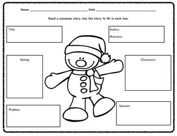 Snowman Literacy