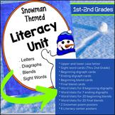 Snowman Literacy Unit  (Pre-K, Kindergarten, 1st Grade, 2n