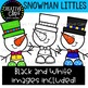 Snowman Littles: Snowman Clipart {Creative Clips Clipart}