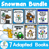 WINTER Snowman BIG Bundle-7 Adapted Books