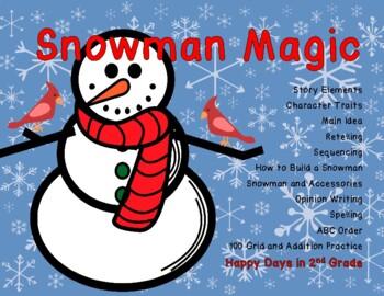 Snowman Magic Story Activities