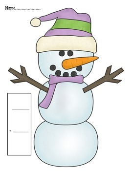 Snowman Making Tens Game