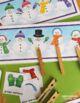 Snowman Matching Activity
