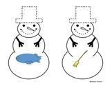 Snowman Matching: Blends, DIgraphs, Trigraphs