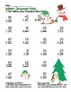 """""""Snowman Math"""" 2 Digit Addition Without Regrouping Common Core (color&blackline)"""