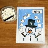 Snowman Math Activities