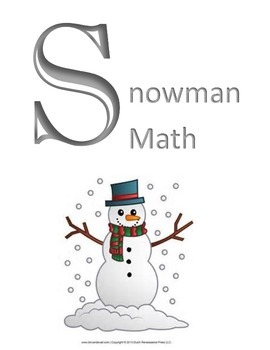 Snowman Math- Addition