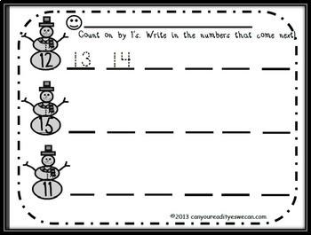 Snowman Math Bundle