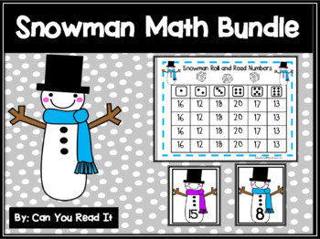 Snowman Math Bundle
