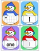 Snowman Math Cards - 0 to 10