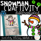 Snowman Math Craft-Differentiated