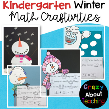 Snowman Math Craftivity for Kindergarten
