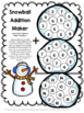 Winter Activities: Snowman Math Games Addition and Subtraction