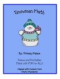 Snowman Math Games and Activities