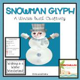 Winter Math Glyph and Craftivity-Common Core Aligned
