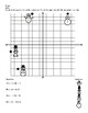 Snowman Math: Graphing and Writing Equations in Point Slope Form Activities