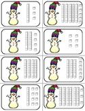 Snowman Math: Place Value Game