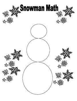 Snowman Math Pythagorean Theorem