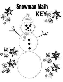 Snowman Math Quadratic Equations