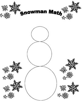 Snowman Math Right Triangle Trigonometry