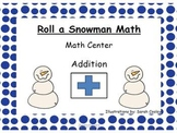 Snowman Math- Shake and Write