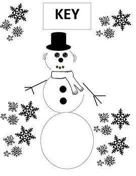 Snowman Math Solving Systems
