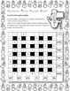 Snowman Math Square Dare! 6x6 Winter Theme Challenging Mat