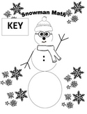 Snowman Math - Two Digit Multiplication