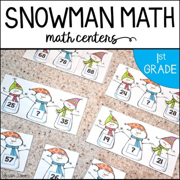 Snowman Math for Primary Grades