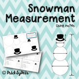 Snowman Measurement (Using Inches)