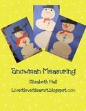Snowman Measuring Freebie