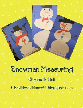 Snowman Measuring Freebie
